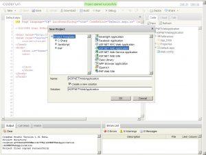 Coderun.com 在线开发IDE(点击看大图)