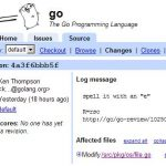 Go语言源码的一个改动