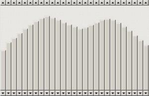 用滚动条做的波形