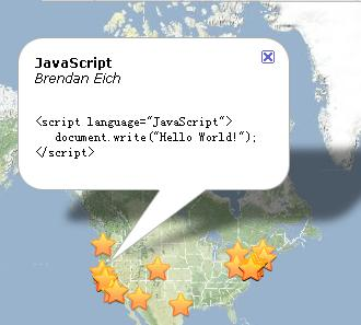 JavaScript 的发明者,发明地和示例