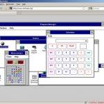 一个Windows 3.1的Web网站