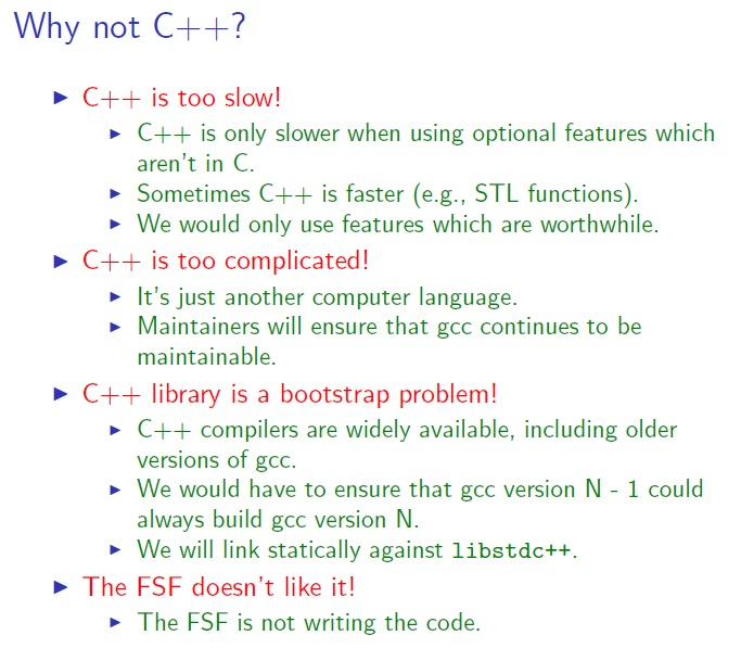 Gcc Is Compiled With C Compiler